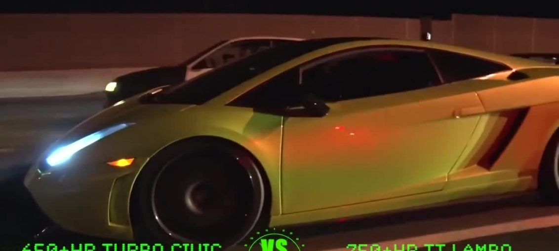 Civic Turbo Lamborghini Twin Turbo