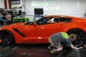 Dyno accident Corvette ZR1