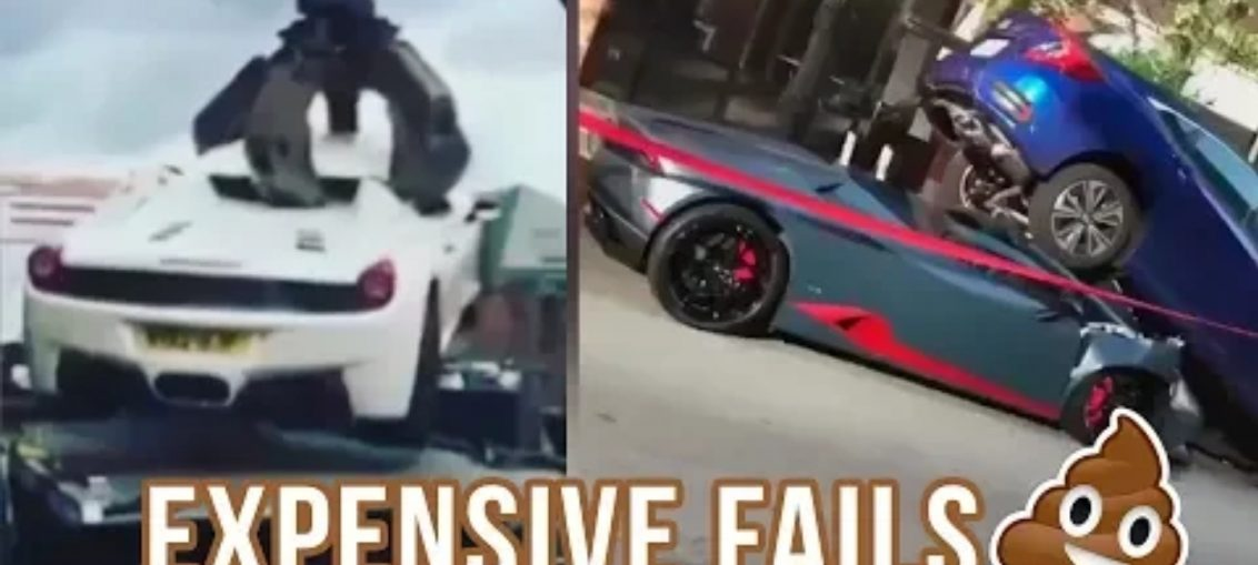 Expensive supercars car fails