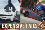 Expensive supercars car fails