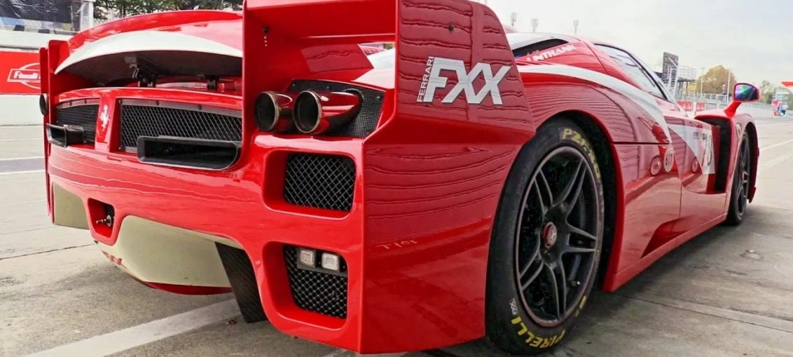 Ferrari FXX V12 Sound