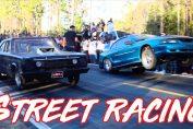 Mustang street racing