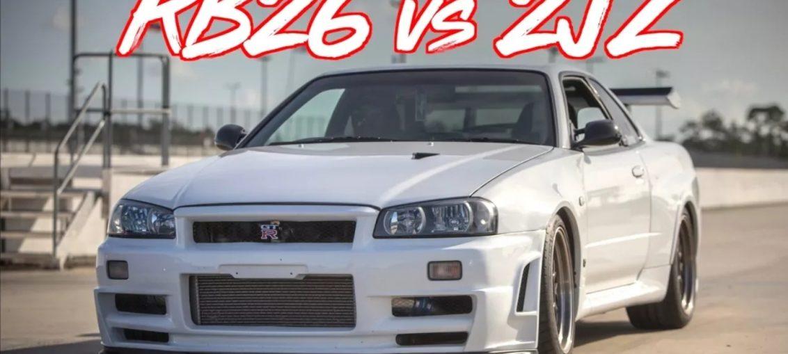 Rb26 vs 2jz skyline supra