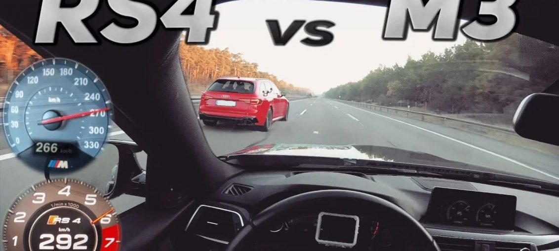 Audi rs4 vs bmw m3