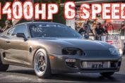 1400HP 6 speed 2jz big turbo supra