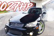2jz big turbo lexus is300