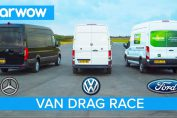 VAN DRAG RACE