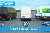 VAN DRAG RACE