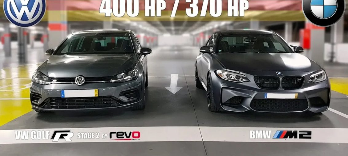 Golf R vs BMW M2