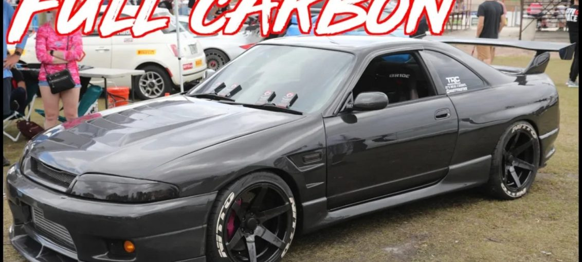 Full carbon Nissan Skyline R33