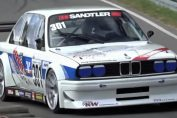 E30 BMW stanced sound rpm
