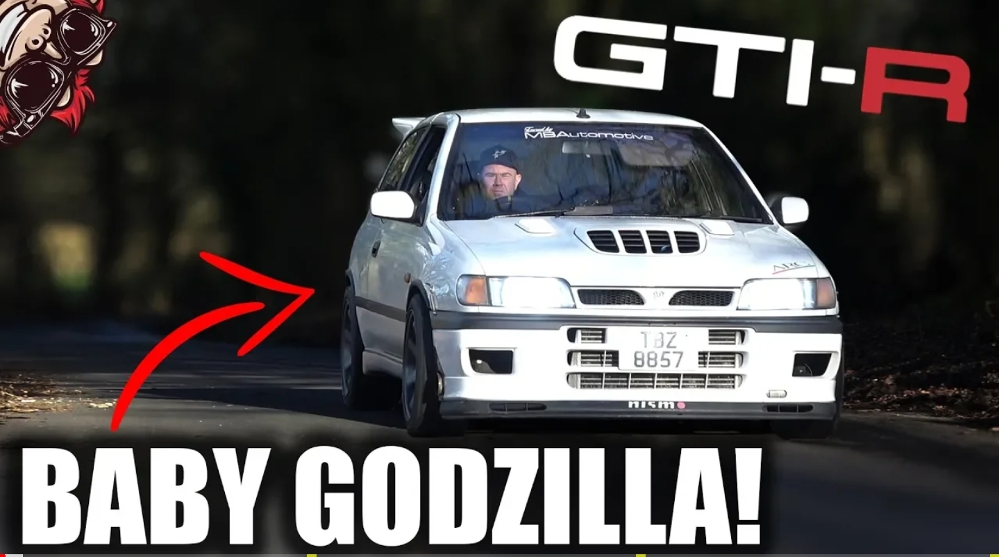 THE BABY GT-R 4WD LEGEND! NISSAN PULSAR GTI-R - Turbo and ...
