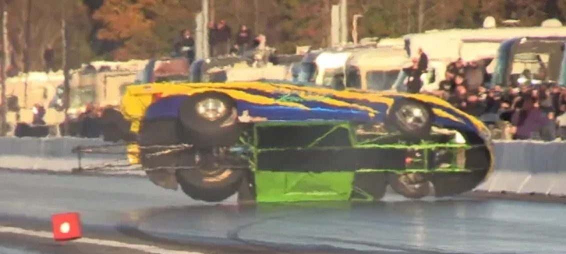 craziest moments drag racing