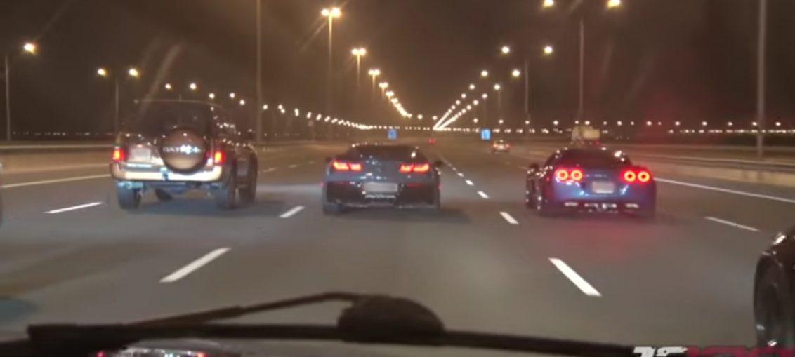 Street Racing on completely EMPTY highways