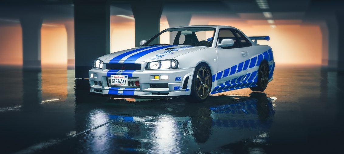 fastest skyline r34 GT-R