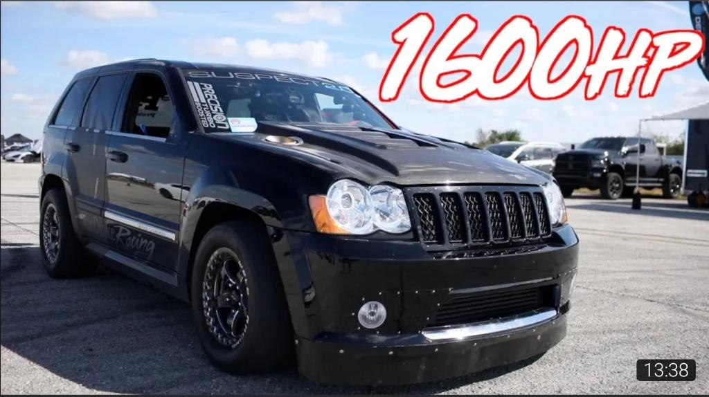 Jeep Srt8 2008 >> 1600HP AWD Jeep goes 197mph! - Worlds Fastest Jeep SRT8 - Turbo and Stance