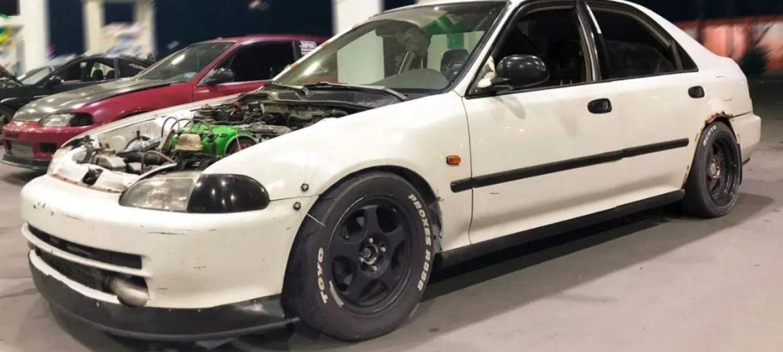 Turbo Honda vtec R35 GT-R