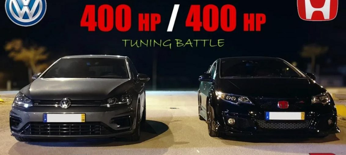 Golf R20 vs Civic Type R