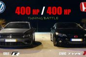 Golf R20 vs Civic Type R