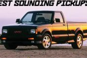 Best sounding pickup trucks