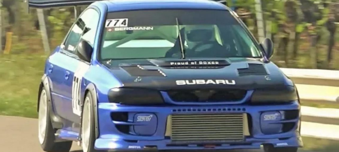 Subaru impreza 2.1l gt