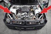 1100HP Nissan S14 with VK56 5.6L V8 Twin Turbo Engine