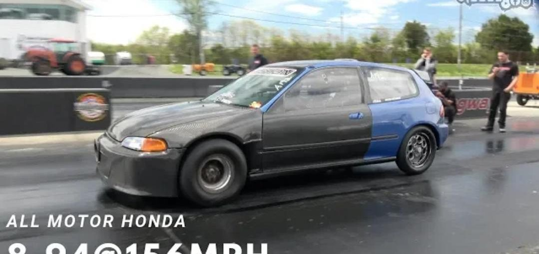 All Motor Civic World Record