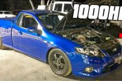 1000HP Barra's, Commodores, UTES