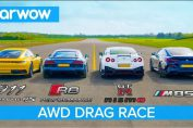 New 911 vs GT-R NISMO vs Audi R8 vs BMW M850i