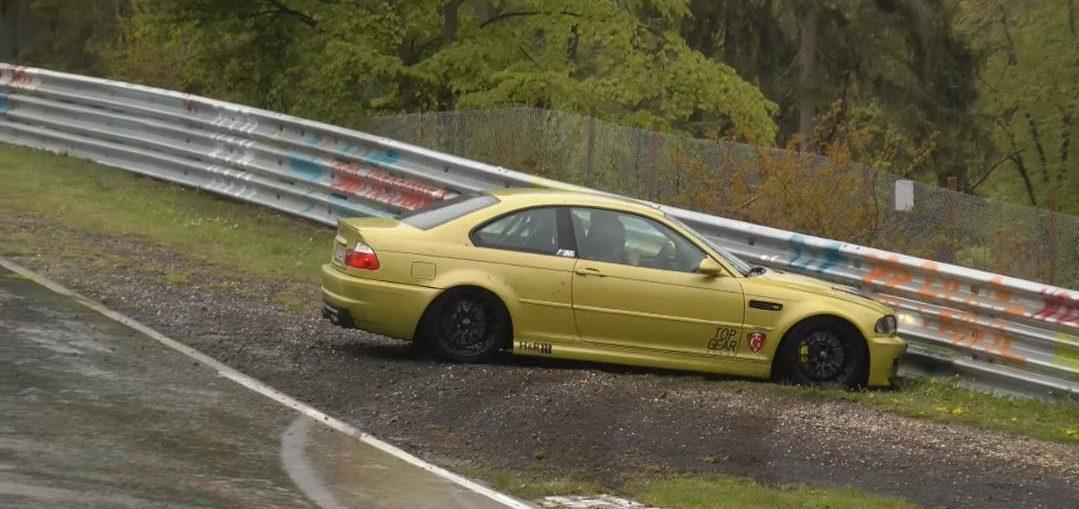 Slowest Crash ever on the Nürburgring