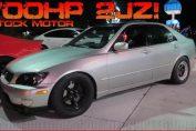700HP TURBO IS300 vs 800HP 2017 Mustang GT