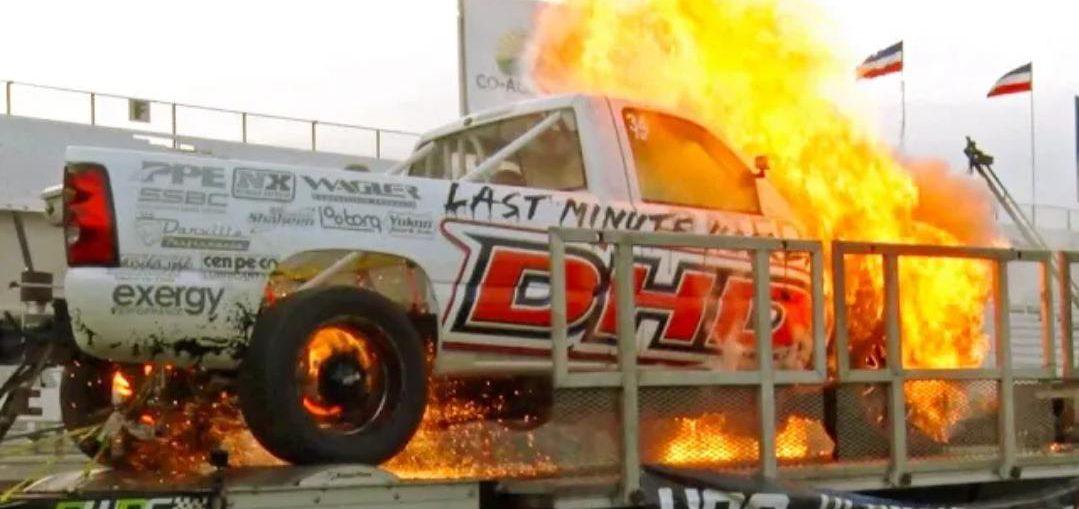 Runaway Diesel on the dyno