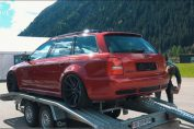 Audi RS4 B5 Antilag Drag