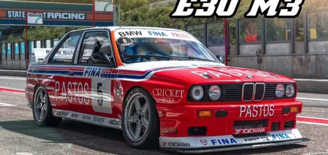 BMW E30 M3 Replica S14