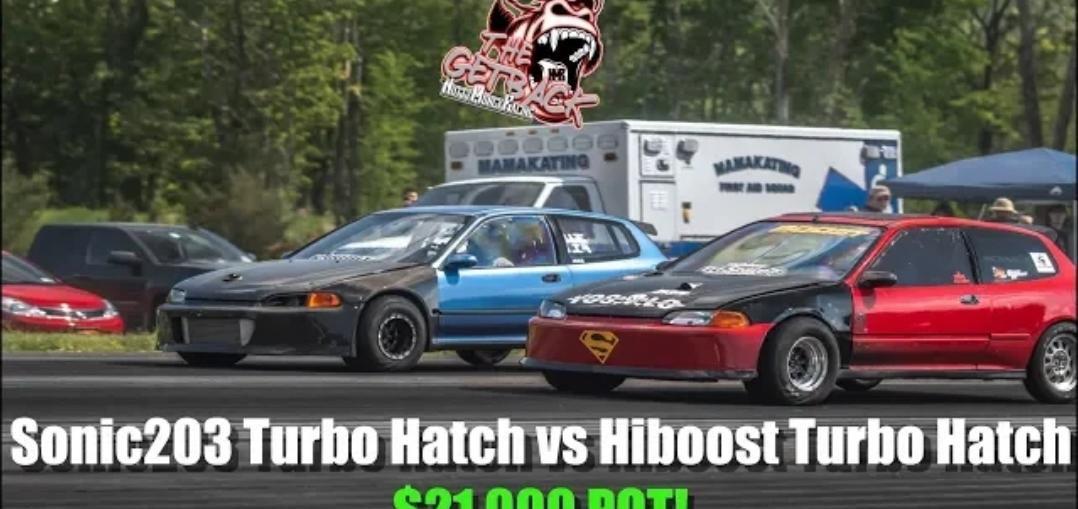Sonic Turbo Civic Hatch