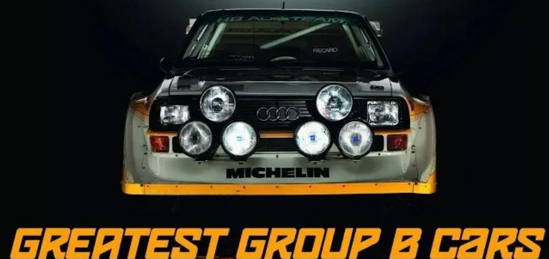 Greatest Group B Race Cars