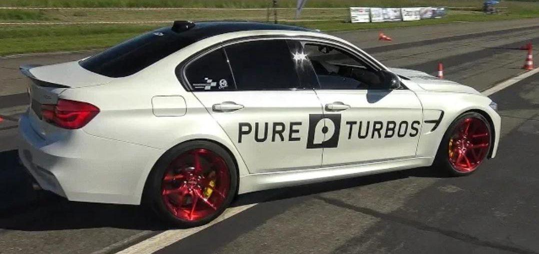 BMW M3 F80 w/ PURE TURBOS