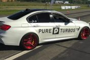 BMW M3 F80 w/ PURE TURBOS