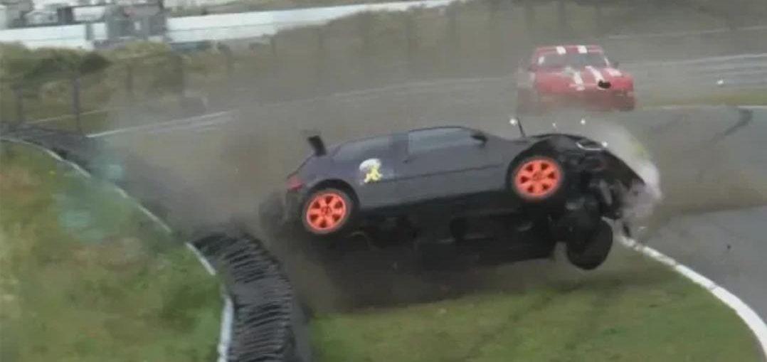 VW Golf Crashed HARD