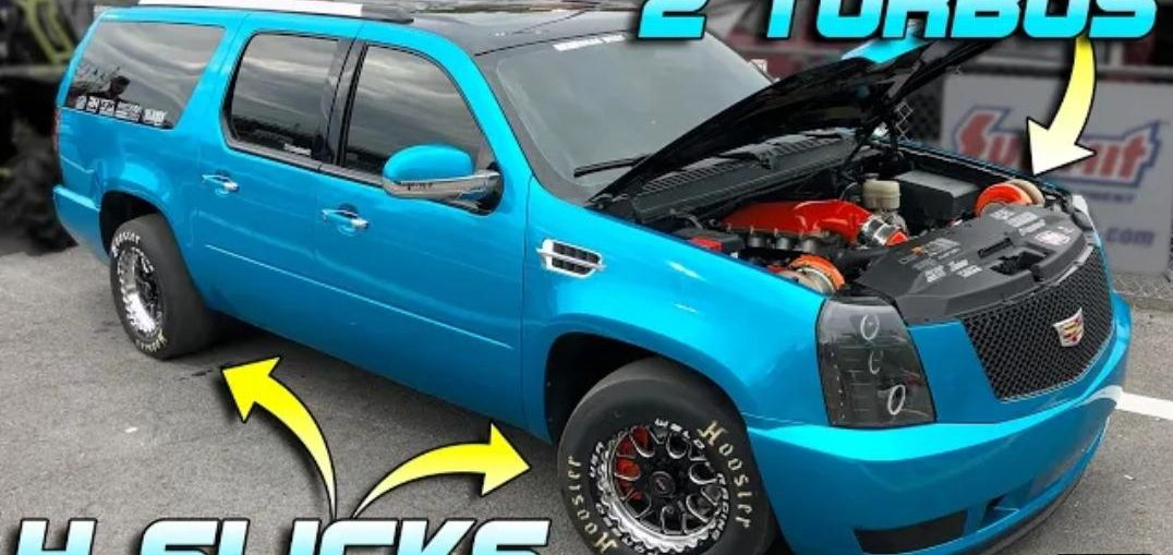 1200HP Twin Turbo Caddilac SUV