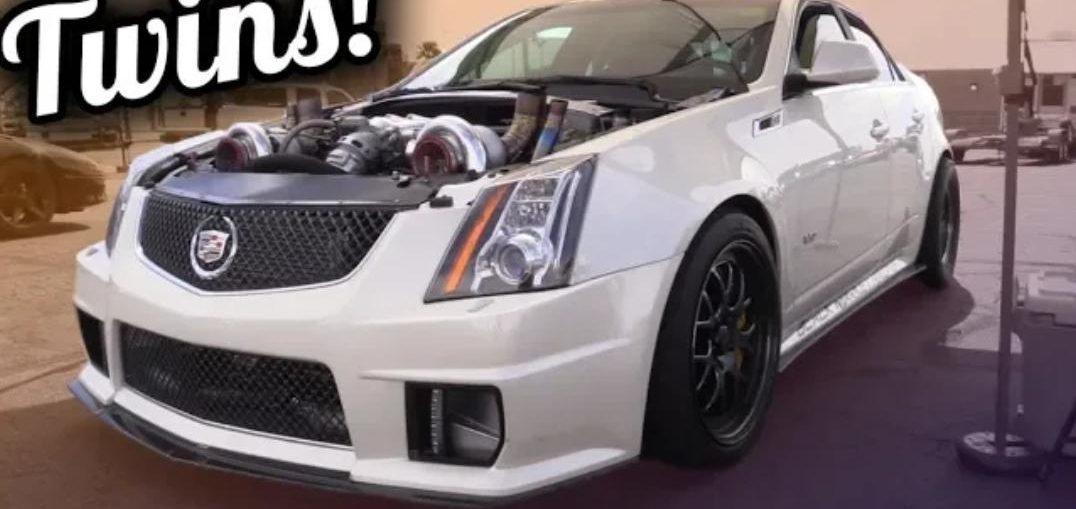 Cadillac Has Twin Turbos