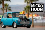 Supercharged V8 Powered Mini Cooper