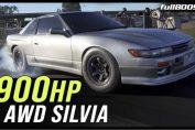 900WHP AWD Nissan Silvia S13