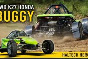 Honda-powered AWD Autocross