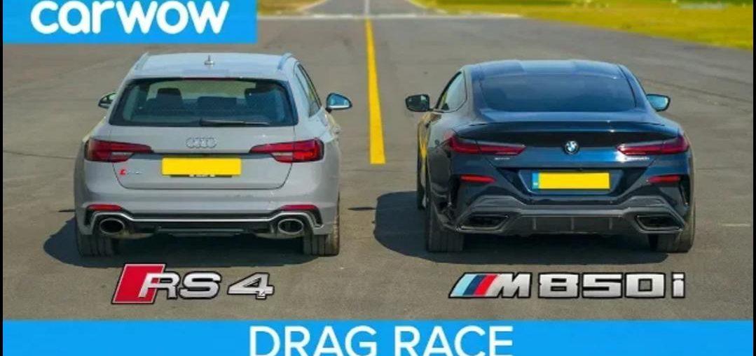 BMW M850i vs Audi RS4