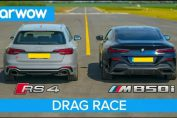 BMW M850i vs Audi RS4