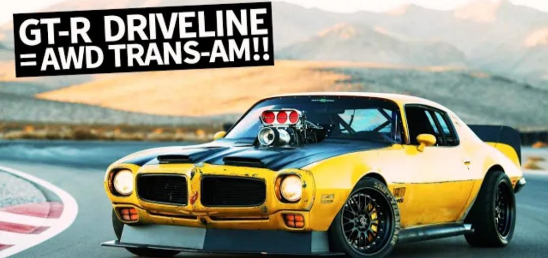 Supercharged 1971 Trans-Am