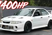 1400HP Evo 6 RS