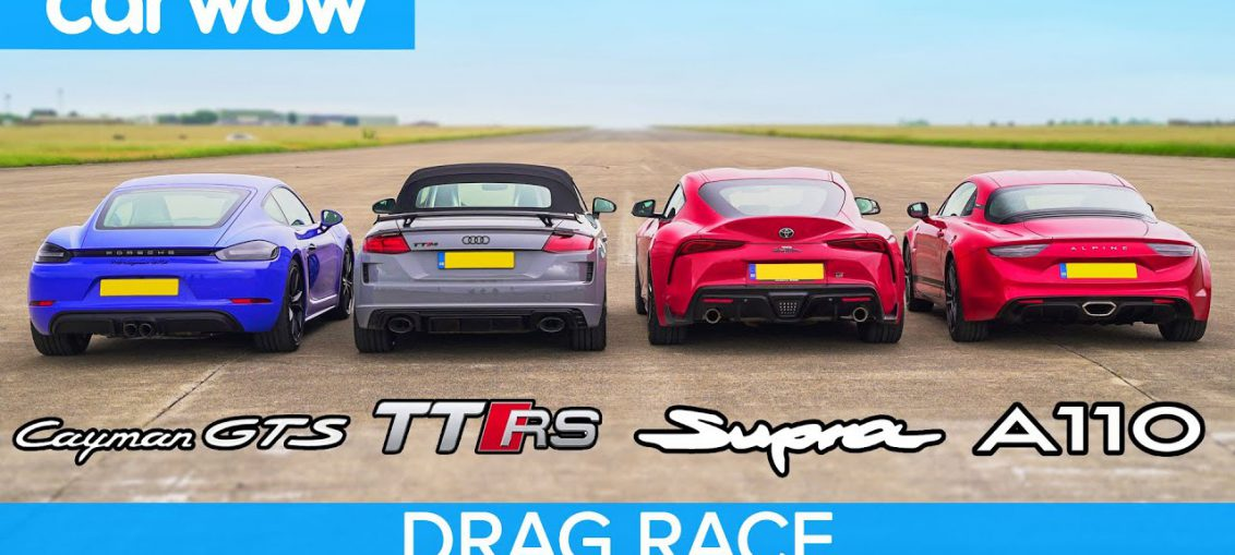 Supra vs Cayman GTS vs TT RS vs Alpine