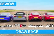 Supra vs Cayman GTS vs TT RS vs Alpine